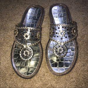Stuart Weitzman jelly sandals